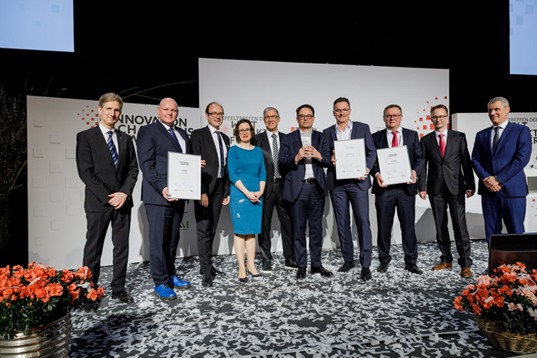 Tecnaro nabs second prize in newly created Innovation Champions Award